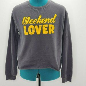 Rebellious One Juniors Weekend Lover  Sweatshirt